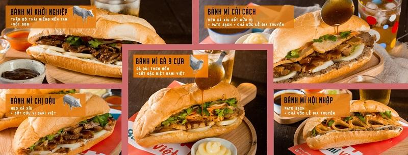 bánh mì Bami Việt